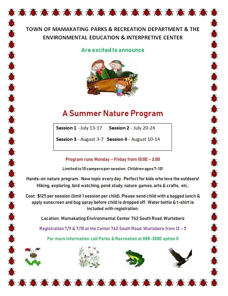 MEEIC SUmmer Nature Program
